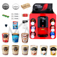 Nescafe &Go Dispenser Machine With 1400+ Piece Starter Pack (Free UK Mainland Express Delivery)